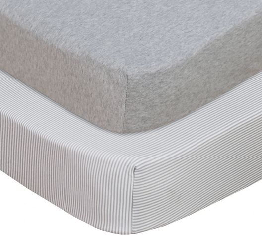 2 pack Jersey Cot Fitted Sheet3