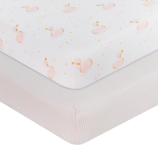 2 pack Jersey Cot Fitted Sheet4
