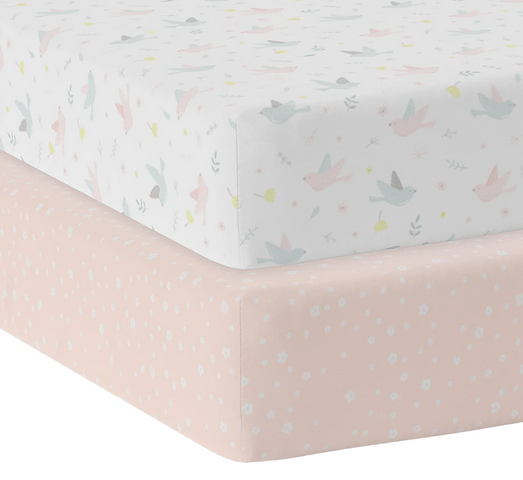 2 pack Jersey Cot Fitted Sheet6