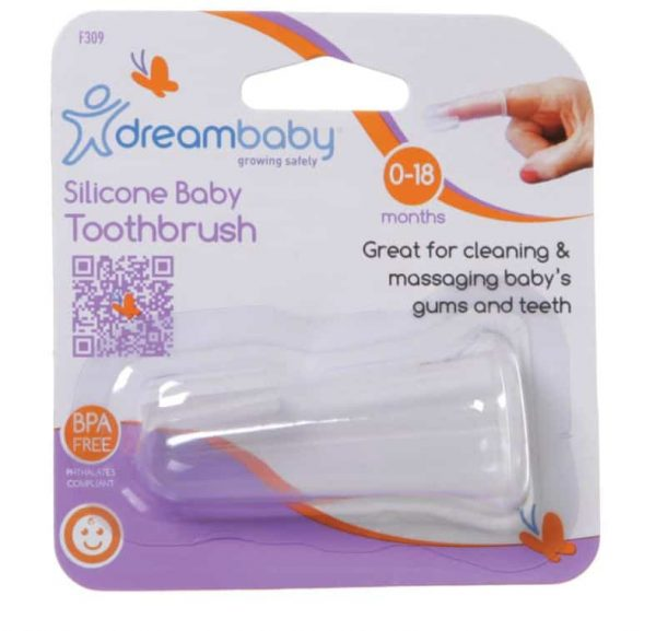 Dreambaby Silicone Baby Toothbrush