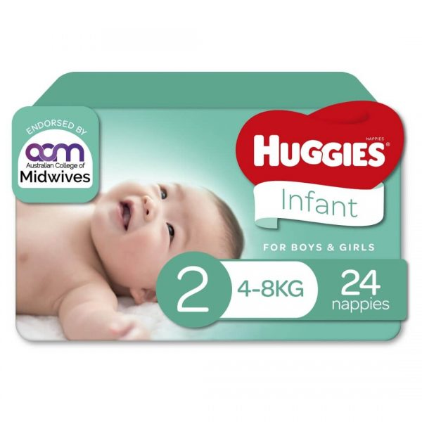 Huggies Ultimate Nappies Infant Convenience Pixie Box Size 1 Unisex 3