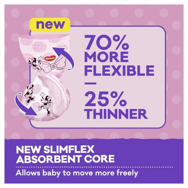 Huggies Ultra Dry Nappy Pants Girl Size 3 6 12kg 36 Pack 7