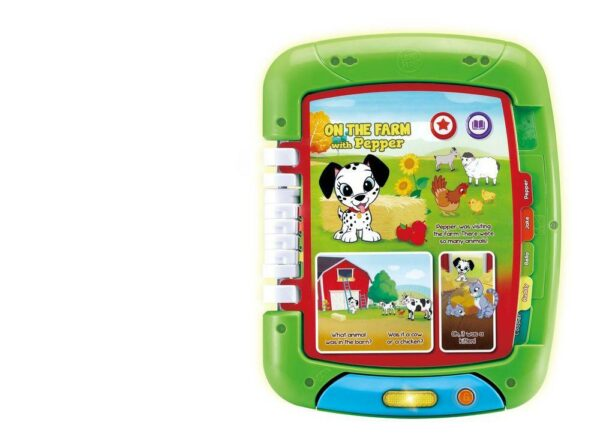LEAPFROG 2 IN 1 TOUCH LEARN TABLET 3417766112361 HL611236 10