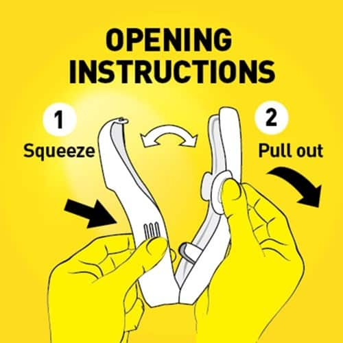f555 db pouch pal opening instructions small