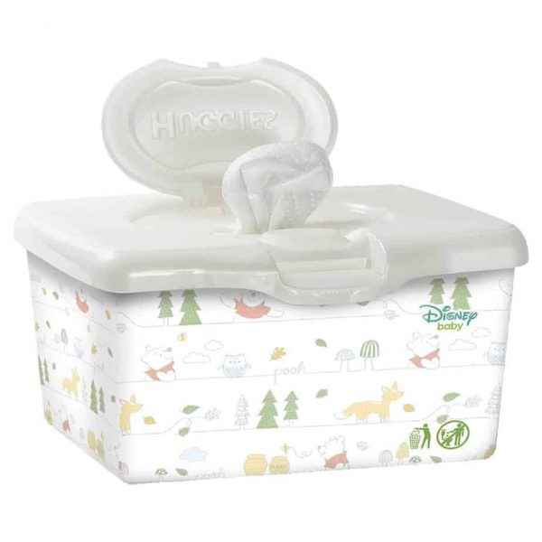 huggies baby wipes fragrance free refillable tub 80 wipes pooh 0 1
