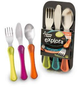 Tommee Tippee Explora First Grown Up Cutlery Set-11338