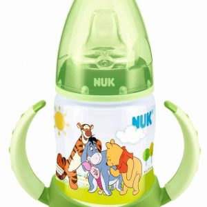NUK First Choice+ Learner Bottle Winnie the Pooh - Green-11211