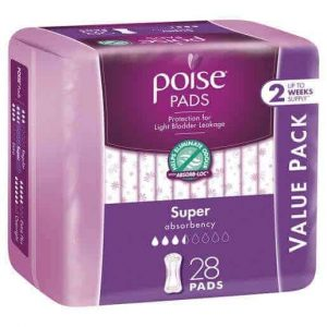 Poise Pads Super 28s Value Pack-0