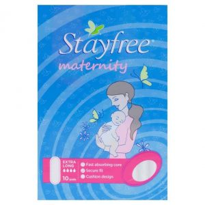 Stayfree Maxi Maternity Pads 10s-1269