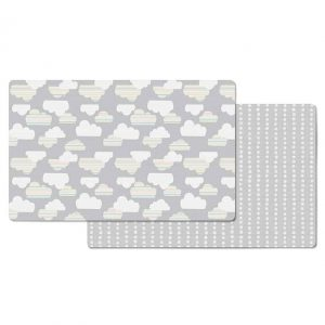 Skip Hop Doubleplay Reversible Play Mat Clouds-0