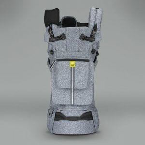 Pursuit-pro-heathered-grey-front-hood-up