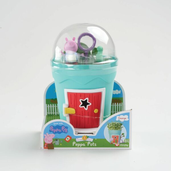 GROW WITH PEPPA PIG POTS GEORGE 5026175991023 PP110SS 2