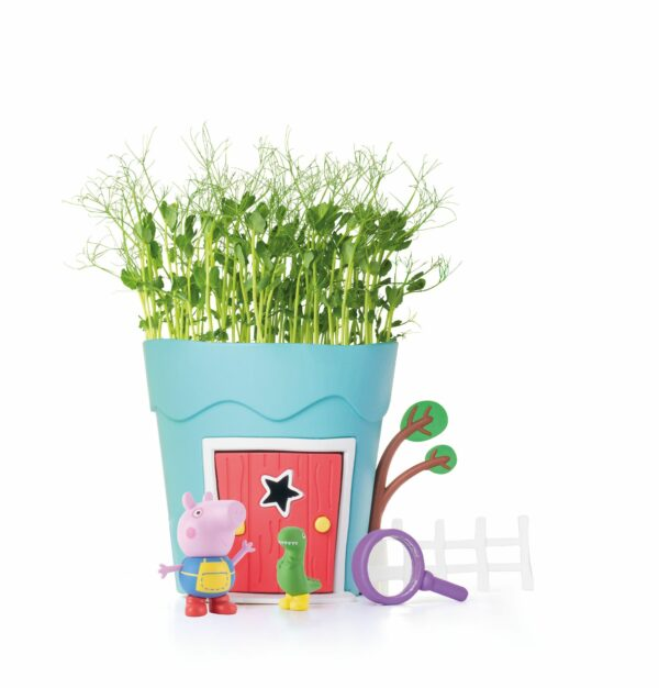 GROW WITH PEPPA PIG POTS GEORGE 5026175991023 PP110SS