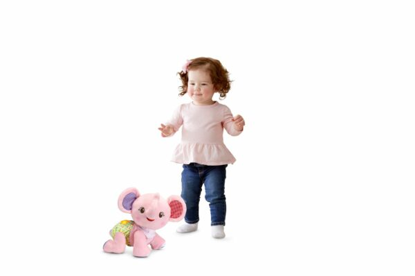 VTECH BABY CRAWL WITH ME ELEPHANT PINK 3417765332531 H533293 4 1