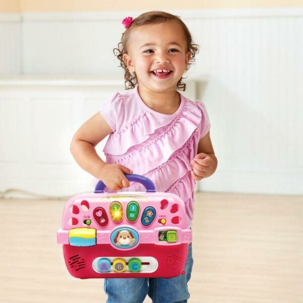 VTECH CARE FOR ME LEARNING CARRIER WITH PUPPY 3417761915004 H191500 4 1