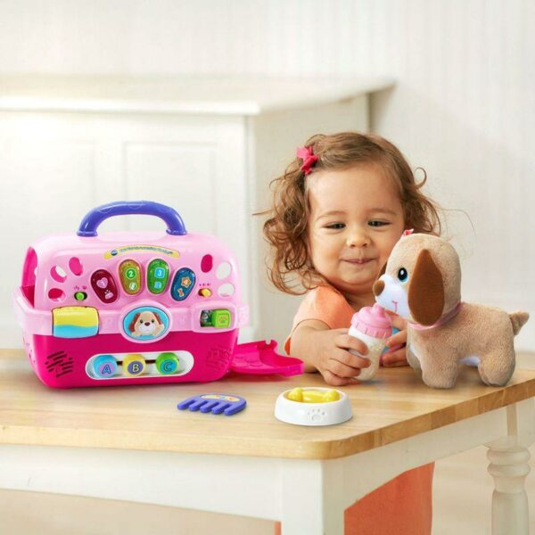 VTECH CARE FOR ME LEARNING CARRIER WITH PUPPY 3417761915004 H191500 5