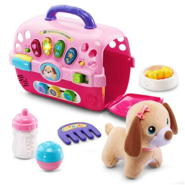 VTECH CARE FOR ME LEARNING CARRIER WITH PUPPY 3417761915004 H191500 9