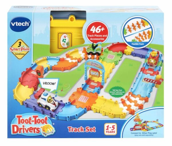 VTECH TOOT TOOT DRIVERS TRACK SET 3417765244032 H524403 scaled 1
