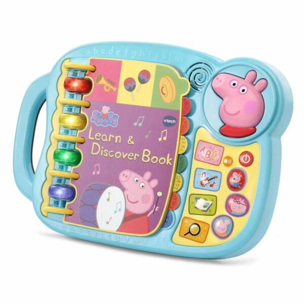 Vtech Peppa Pig Learn Discovery Book 2