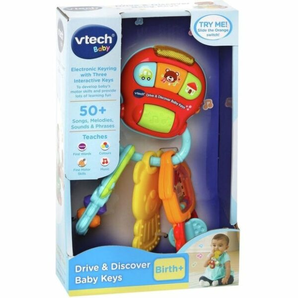 vt vtech drive and discover baby keys 2