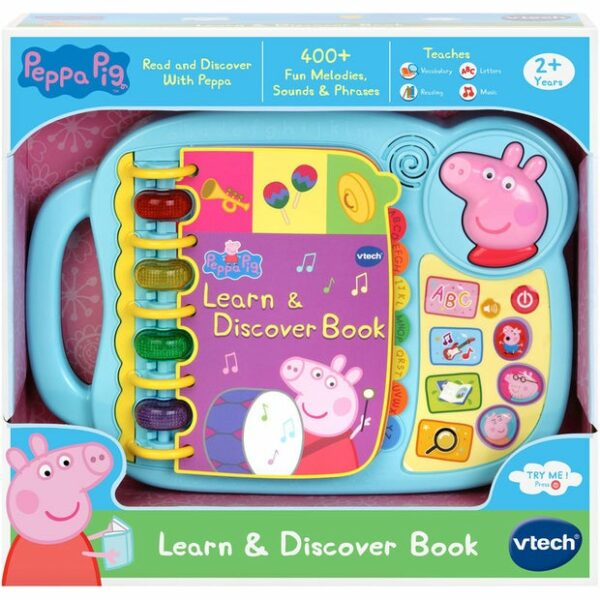 vtech peppa pig learn discover book 1